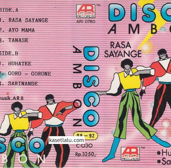 DISCO AMBON - RASA SAYANGE