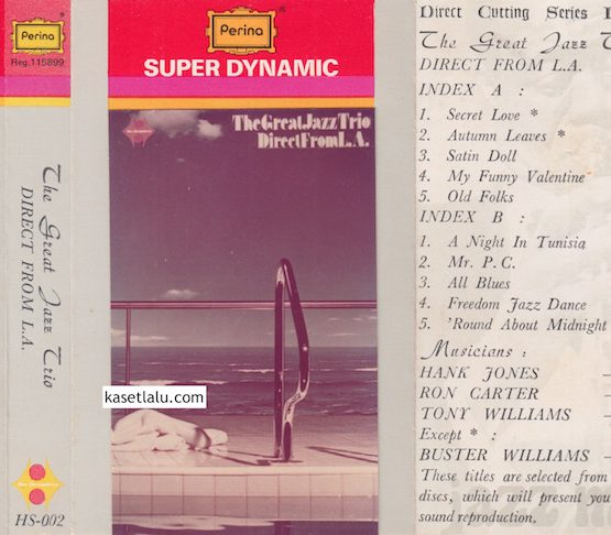 HS 002 - DIRECT FROM L.A - THE GREAT JAZZ TRIO