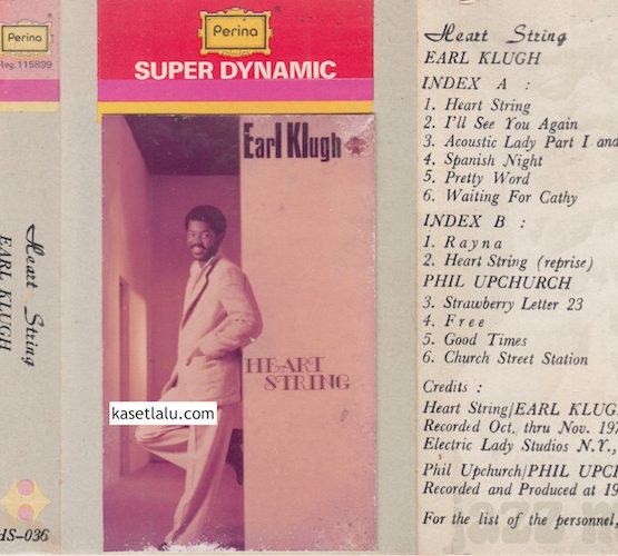 HS 036 - EARL KLUGH - HEART STRING