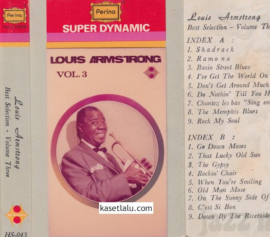 HS 043 - LOUIS ARMSTRONG - BEST SELECTION VOL. 3