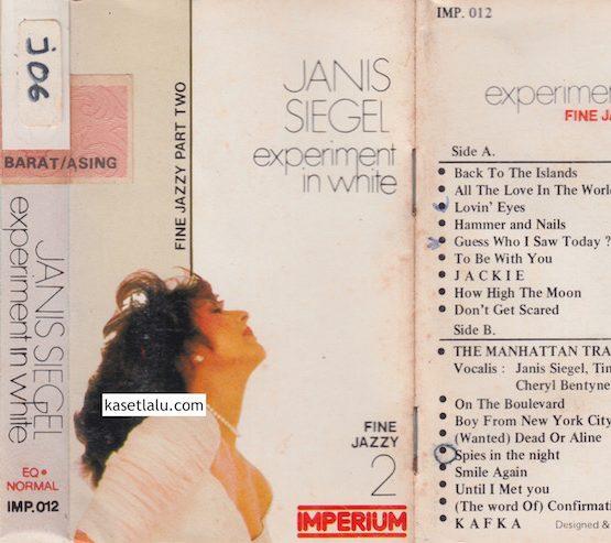IMP 012 - JANIS SIEGEL - EXPERIMENT IN WHITE