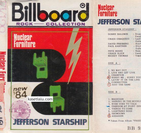 JEFFERSON STARSHIP - NUCLEAR FURNITURE