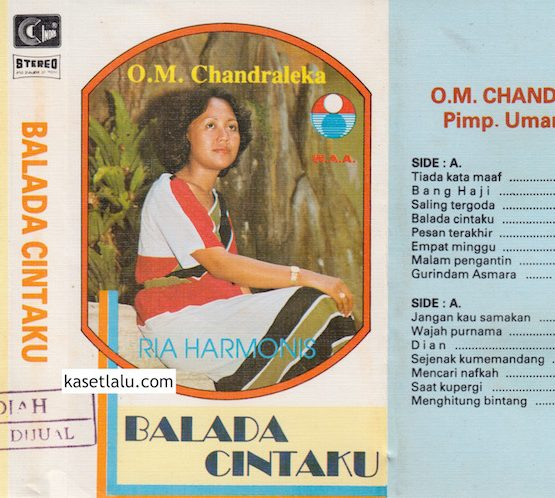 O.M CHANDRALEKA PIMP. UMAR ALATAS - RIA HARMONIS - BALADA CINTAKU