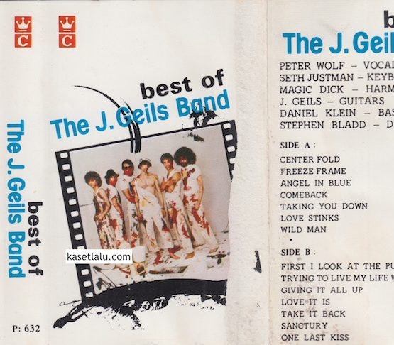 P 632 - THE J. GEILS BAND - BEST OF