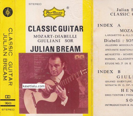 PERNUSA 9048 - CLASSIC GUITAR JULIAN BREAM - MOZART DIABELLI GUILANI SOR