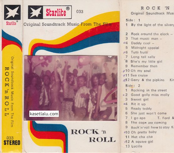 STARLITE 033 - ROCK 'N ROLL - ORIGINAL SOUNDTRACK MUSIC FROM THE FILM