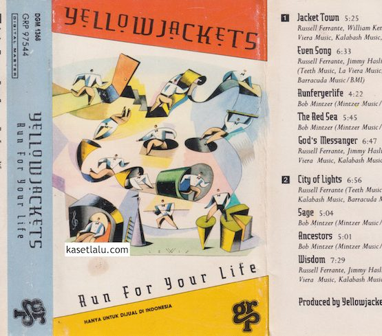YELLOW JACKETS - RUN FOR YOUR LIFE