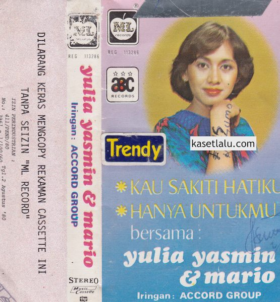 YULIA YASMIN & MARIO - KAU SAKITI HATIKU (IRINGAN ACCORD GROUP) (COVER TERPOTONG)