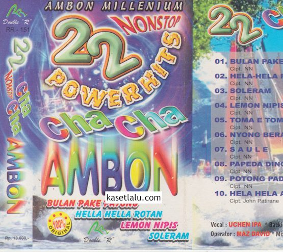 22 NONSTOP POWER HITS CHA CHA AMBON