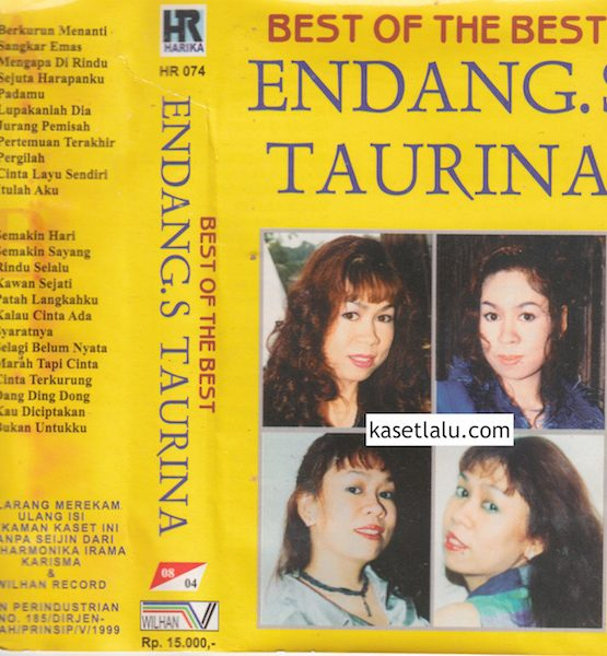 ENDANG S. TAURINA - BEST OF THE BEST (COVER LENGKET)
