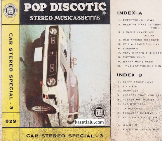 POP DISCOTIC - CAR STEREO SPECIAL 3