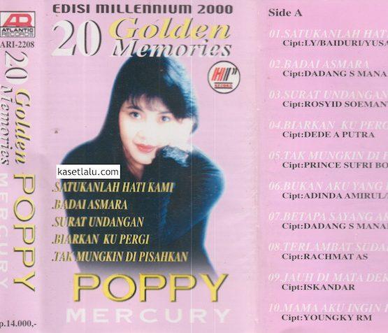 POPPY MERCURY - 20 GOLDEN MEMORIES EDISI MILLENIUM 2000