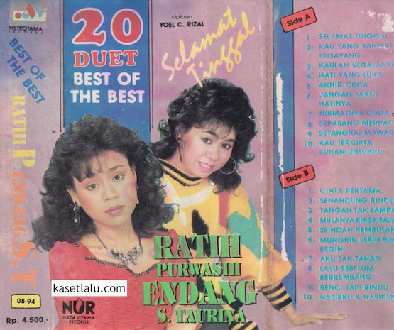 RATIH PURWASIH & ENDANG S TAURINA - 20 DUET BEST OF THE BEST