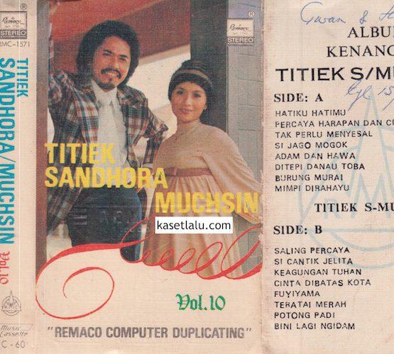 RMC-1571 - TITIEK SANDHOA & MUCHSIN - VOLUME 10