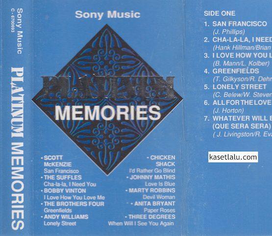 SONY MUSIC - PLATINUM MEMORIES