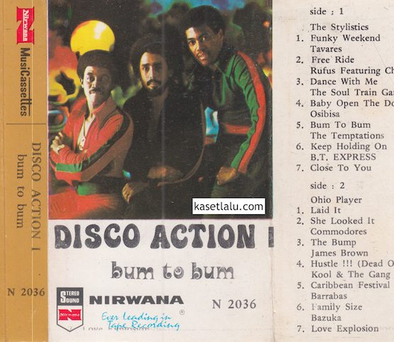 THE STYLISTIC - DISCO ACTION 1 BUM TO BUM