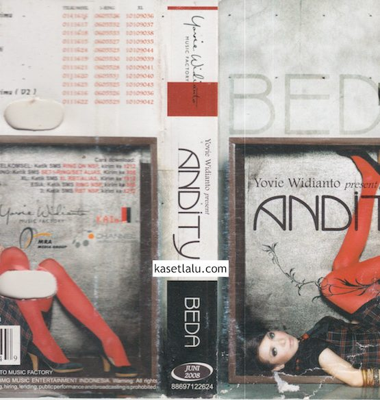YOVIE WIDIANTO PRESENT ANDITY - BEDA