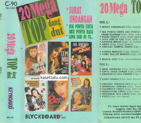 20 MEGA TOP DANGDUT KEYBOARD