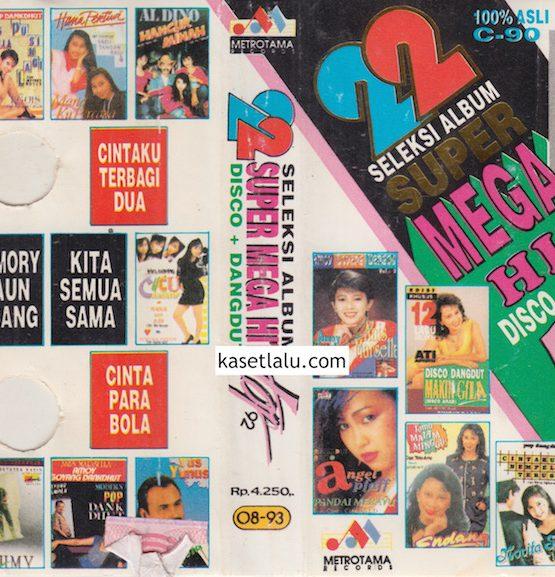 22 SELEKSI ALBUM SUPER MEGA HITS DISCO + DANGDUT TOP 92