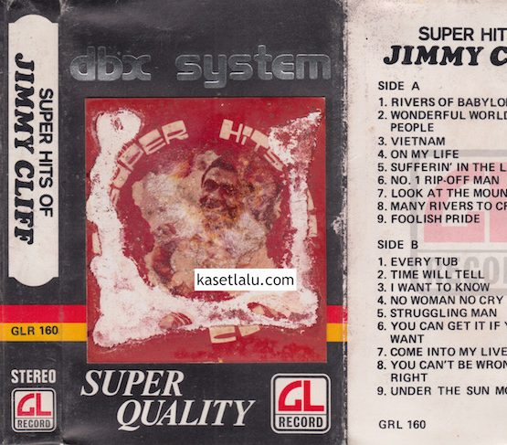 GLR 160 - SUPER HITS OF JIMMY CLIFF