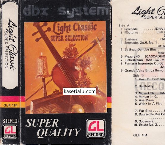 GLR 184 - LIGHT CLASSIC SUPER SELECTION