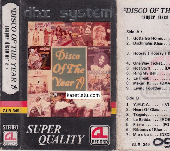 GLR 349 - DISCO OF THE YEAR '79