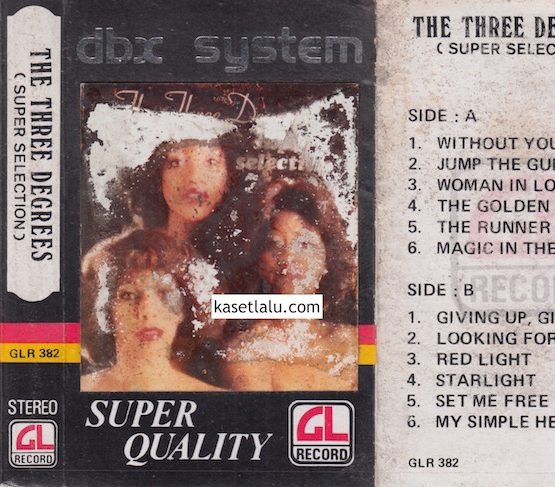 GLR 382 - THE THREE DEGREES (SUPER SELECTION)