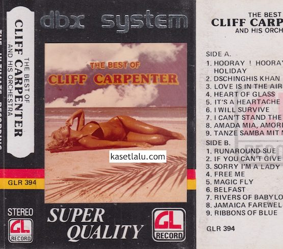 GLR 394 - THE BEST OF CLIFF CARPENTER AND HIS ORCHESTRA