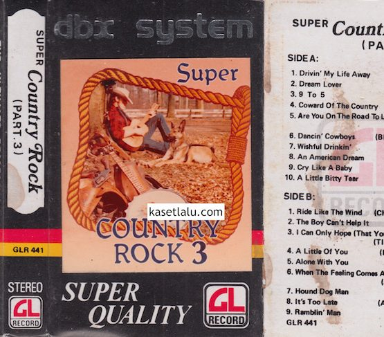 GLR 441 - SUPER COUNTRY ROCK PART-3