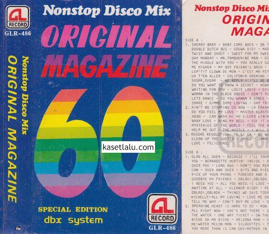 GLR 486 - NONSTOP DISCO MIX ORIGINAL MAGAZINE 60