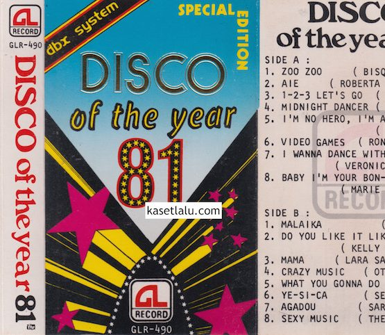 GLR 490 - DISCO OF THE YEAR 81