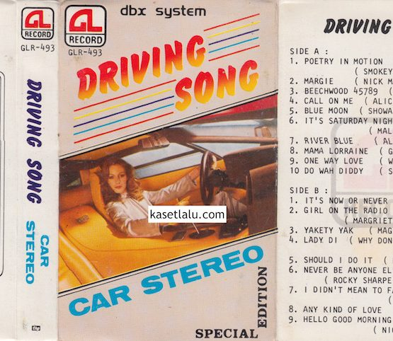 GLR 493 - DRIVING SONG CAR STEREO