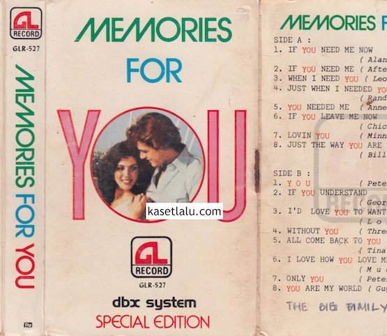 GLR 527 - MEMORIES FOR YOU
