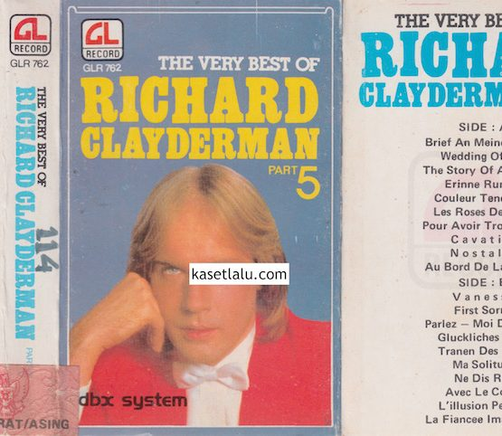 GLR 762 - THE VERY BEST OF RICHARD CLAYDERMAN PART-5