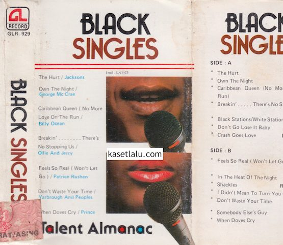 GLR 929 - BLACK SINGLES
