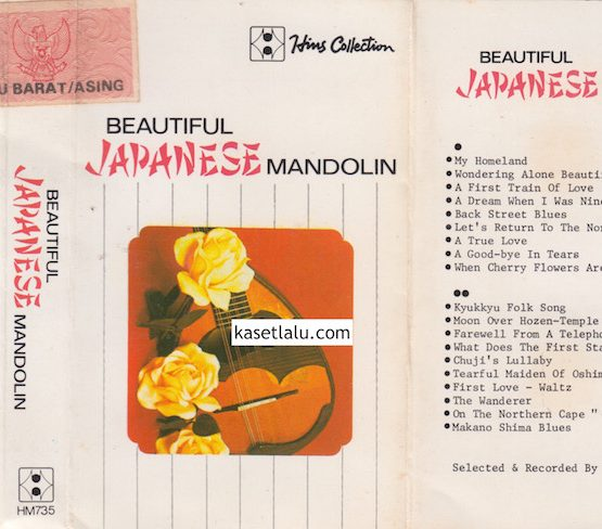 HM 735 - BEAUTIFUL JAPANESE MANDOLIN