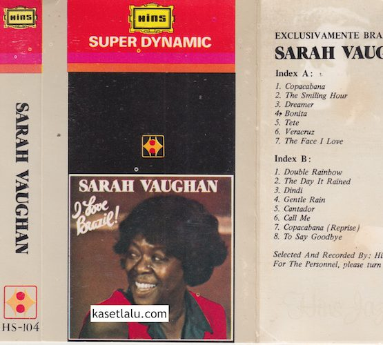 HS 104 - SARAH VAUGHAN - EXCLUSIVE AMENTE BRAZIL