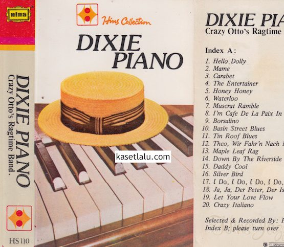 HS 110 - DIXIE PIANO - CRAZY OTTO'S RAGTIME BAND