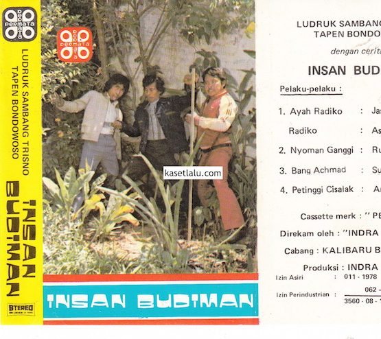 Ludruk Sambang Trisno Tapen Bondowoso - Insan Budiman