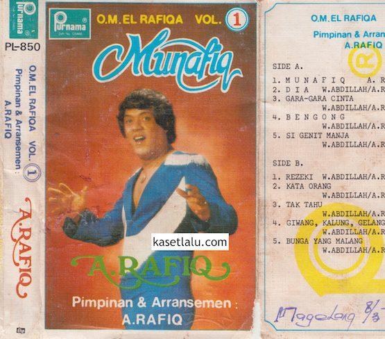 PL-0850 - A. RAFIQ - O.M EL RAFIQA VOL. 1 - MUNAFIQ