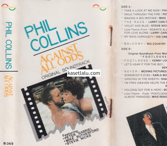 A PRIVATE COLLECTION R 069 - PHIL COLLINS AGAINST ALL ODDS ORIGINAL SOUNDTRACK