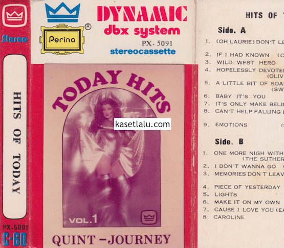 DECK 5091 - HITS OF TODAY