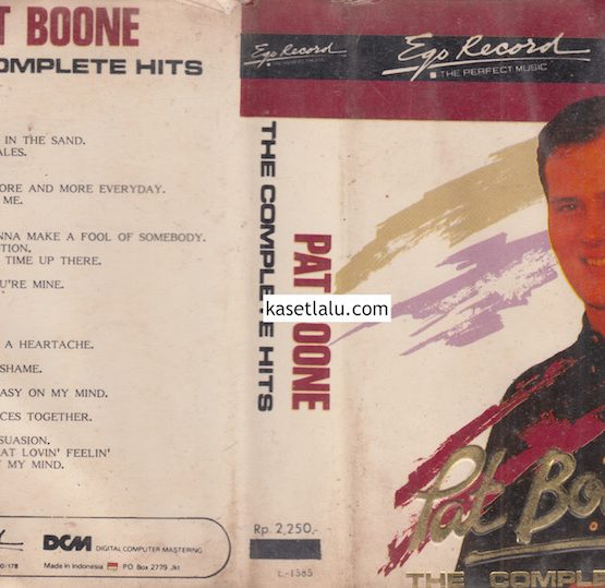 EGO E 1585 - PAT BOONE - THE COMPLETE HITS