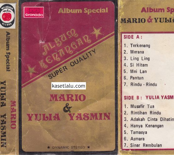 MARIO & YULIA YASMIN - ALBUM SPECIAL ALBUM KENANGAN