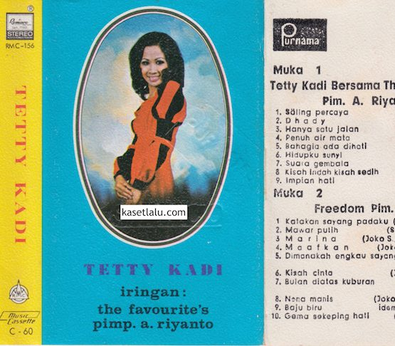 RMC-0156 - TETTY KADI - BERSAMA THE FAVOURITES - SALING PERCAYA