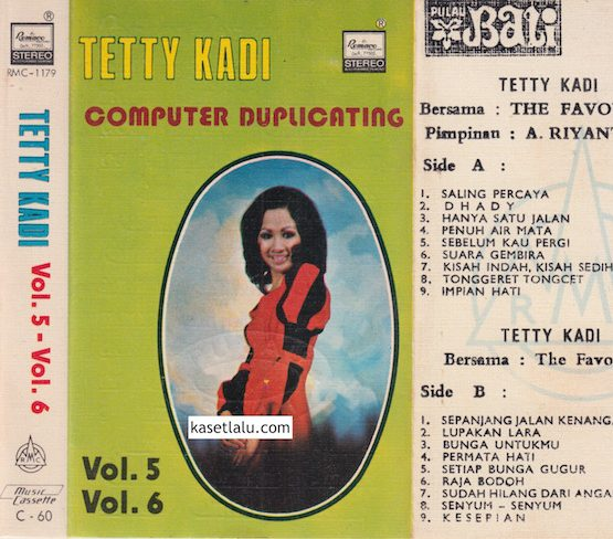 RMC-1179 - TETTY KADI - VOL. 5 VOL. 6