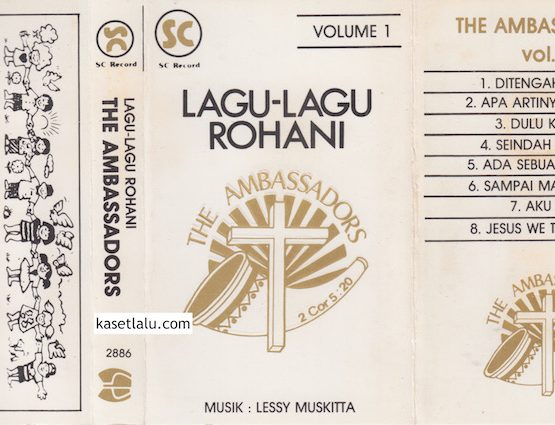 THE AMBASSADORS - LAGU-LAGU ROHANI VOLUME 1