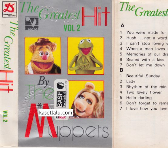 THE GREATEST HIT VOL. 2 BY THE MUPPETS