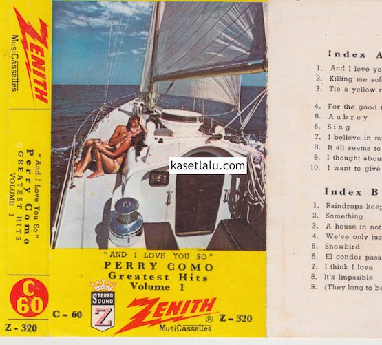 ZENITH Z-320 - PERRY COMO GREATEST HITS VOLUME 1
