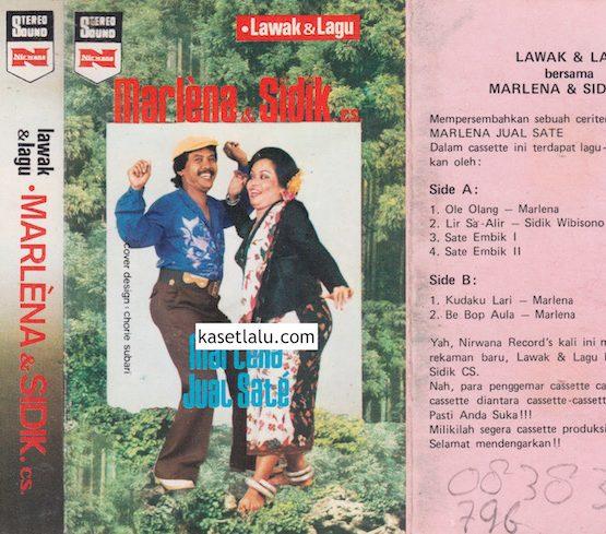 LAWAK & LAGU MARLENA & SIDIK CS - MARLENA JUAL SATE